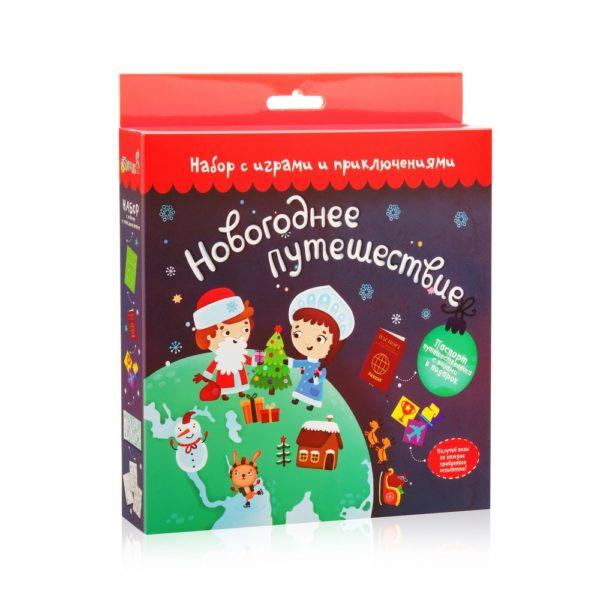 Набор с играми и развлечениями Новогоднее путешествие купить недорого в интернет-магазине игрушек с доставкой по Москве. Инструкция, полные характеристики, отзывы, скидки.