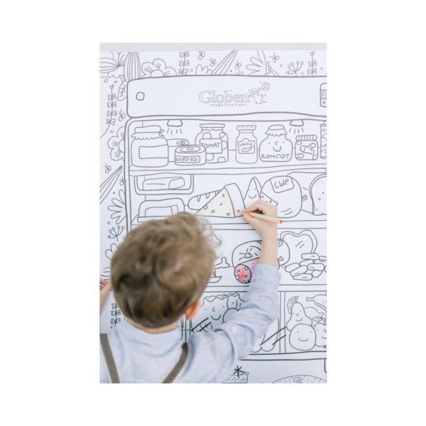 Огромная раскраска Что скрывает холодильник купить недорого в интернет-магазине игрушек с доставкой по Москве. Инструкция, полные характеристики, отзывы, скидки.