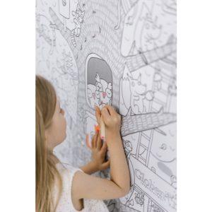 Огромная раскраска Жизнь на дереве купить недорого в интернет-магазине игрушек с доставкой по Москве. Инструкция, полные характеристики, отзывы, скидки.