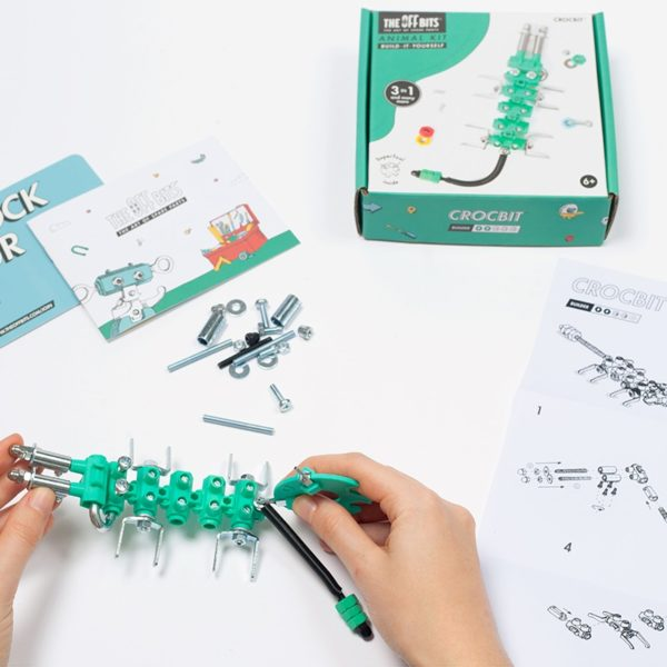 Конструктор The Off bits Crocobit купить недорого в интернет-магазине игрушек с доставкой по Москве. Инструкция, полные характеристики, отзывы, скидки.