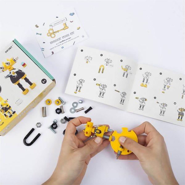 Конструктор The Off bits Infobit купить недорого в интернет-магазине игрушек с доставкой по Москве. Инструкция, полные характеристики, отзывы, скидки.