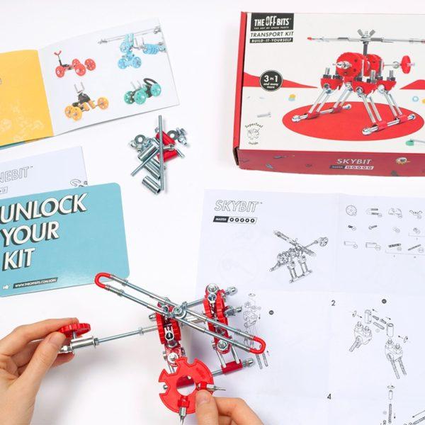 Конструктор The Off bits Skybit купить недорого в интернет-магазине игрушек с доставкой по Москве. Инструкция, полные характеристики, отзывы, скидки.