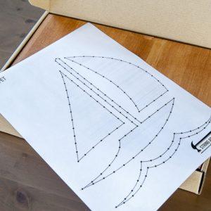 Набор для творчества String Art Картина из ниток Кораблик 30*21 купить недорого в интернет-магазине игрушек с доставкой по Москве. Инструкция, полные характеристики, отзывы, скидки.