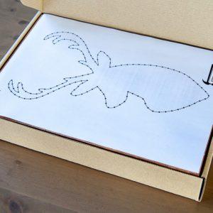 Набор для творчества String Art Картина из ниток Олень 30*21 купить недорого в интернет-магазине игрушек с доставкой по Москве. Инструкция, полные характеристики, отзывы, скидки.