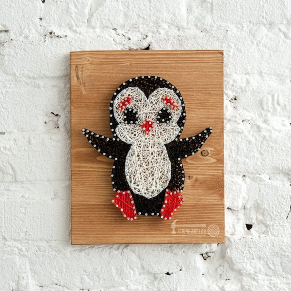 Набор для творчества String Art Картина из ниток Пингвин 30*21 купить недорого в интернет-магазине игрушек с доставкой по Москве. Инструкция, полные характеристики, отзывы, скидки.