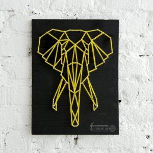 Набор для творчества String Art Картина из ниток Слон (минимализм) 30*21 купить недорого в интернет-магазине игрушек с доставкой по Москве. Инструкция, полные характеристики, отзывы, скидки.