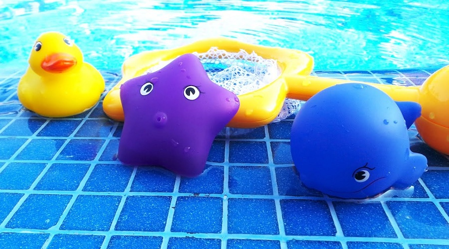 А вы играетесь, когда купаетесь?