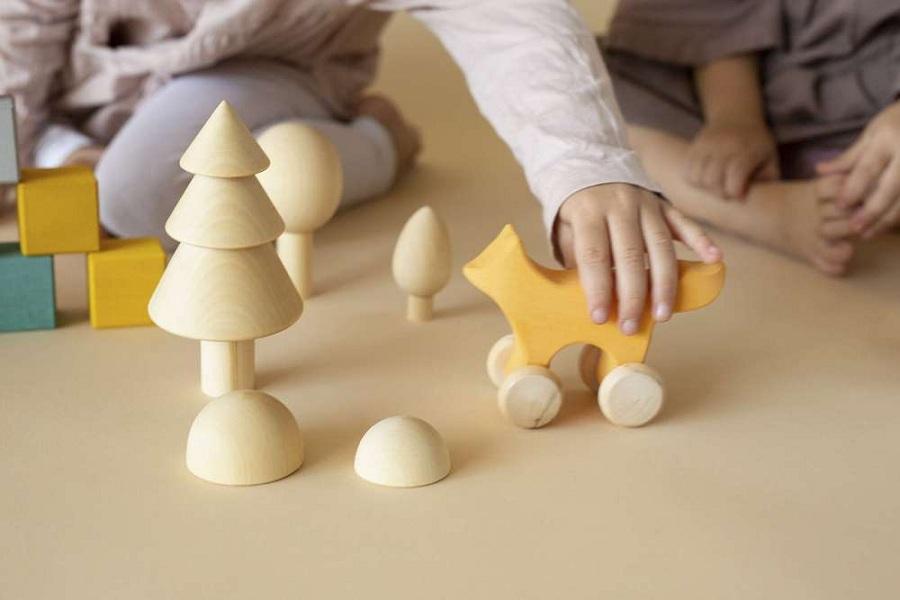 Радуга грез - новое открытие игрушек из дерева