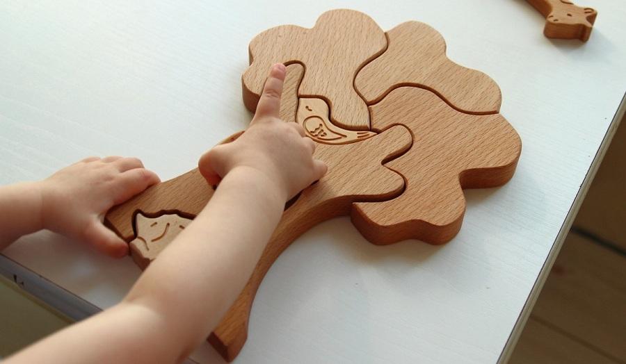 Сложные головоломки из дерева