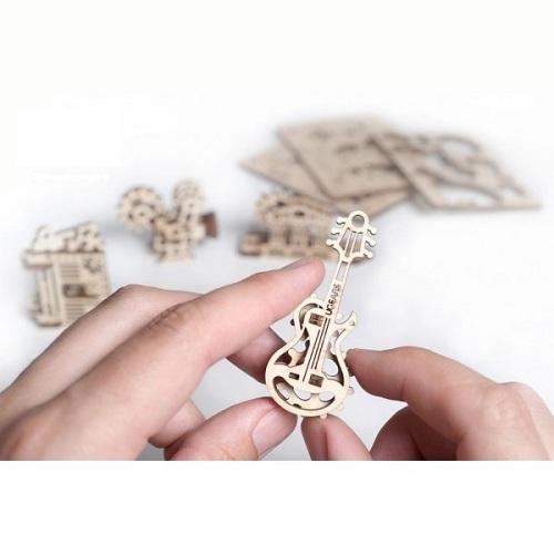 3D-конструктор механический из дерева Ugears - Фиджет Творчество