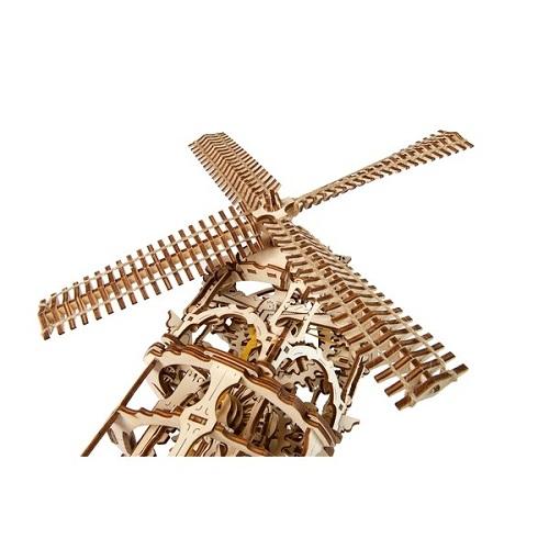 3D-конструктор механический из дерева Ugears - Мельница-Башня