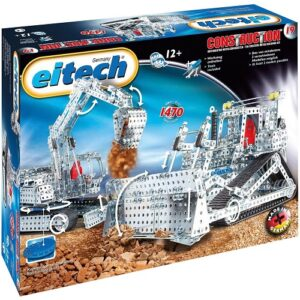 Конструктор Eitech модель Экскаватор и Бульдозер 00019
