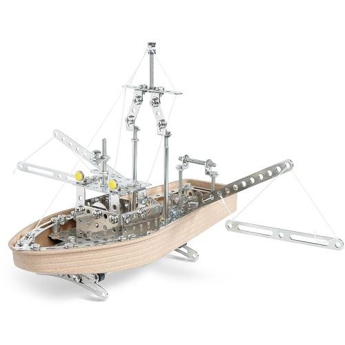 Конструктор Eitech модель Парусник 00020