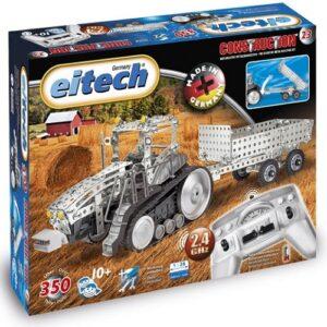Конструктор Eitech модель Трактор с прицепом на Р/У 00023