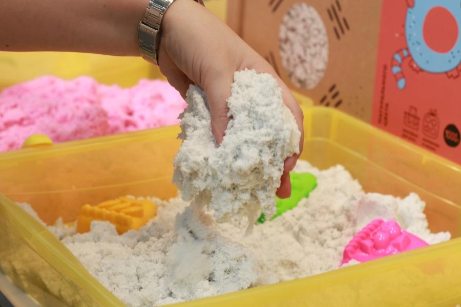 Выставка Kids Russia 2019 - новинки детских игрушек, Живой песок.