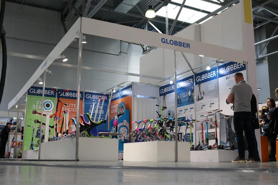 Выставка Kids Russia 2019 - новинки детских игрушек, стенд Globber.