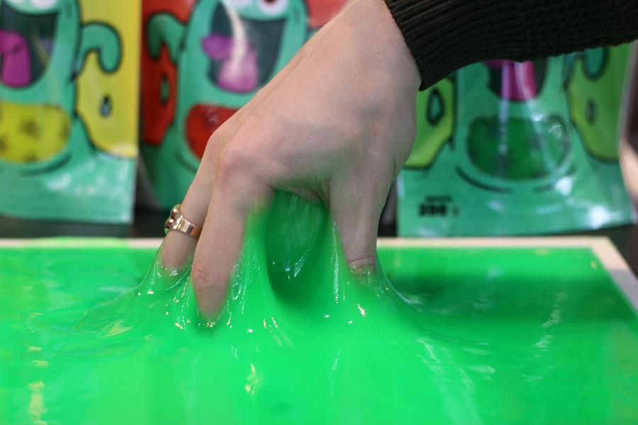 Выставка Kids Russia 2019 - новинки детских игрушек, Slime Монстр.