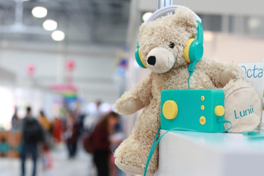 Выставка Kids Russia 2019 - новинки детских игрушек, гаджет для самых маленьких от Lunii.