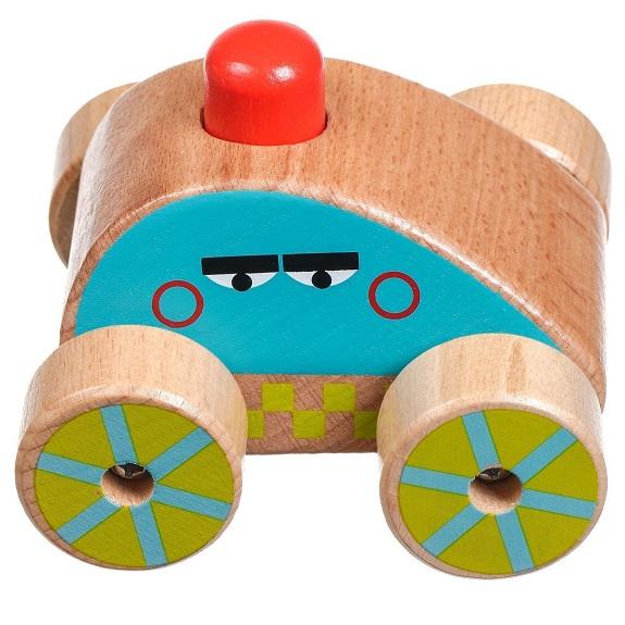 Деревянная Полицейская Машинка-пищалка Lucy s Leo