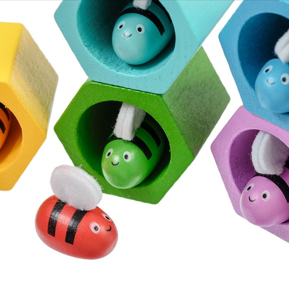 Развивающий набор Координация Пчелки Lucy s Leo