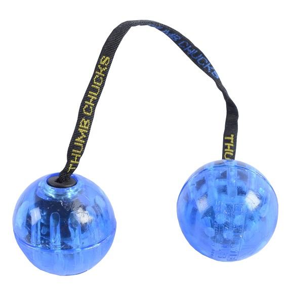 Скиллтой-игрушка Fidget Balls светящиеся шары Синий