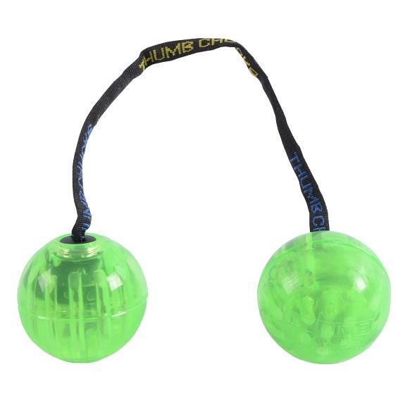 Скиллтой-игрушка Fidget Balls светящиеся шары Зеленый