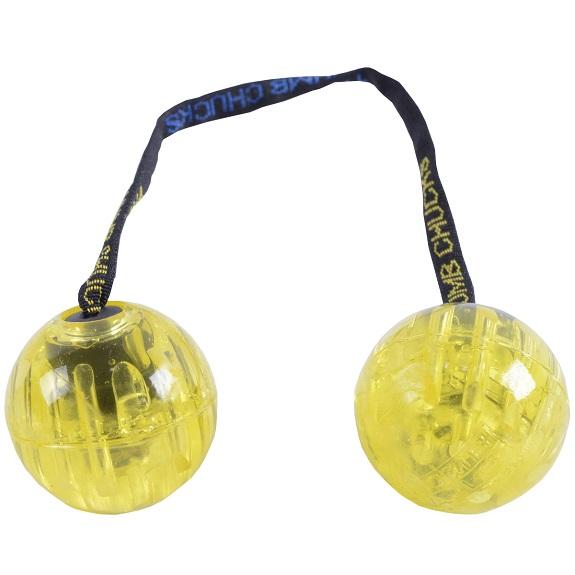 Скиллтой-игрушка Fidget Balls светящиеся шары Желтый