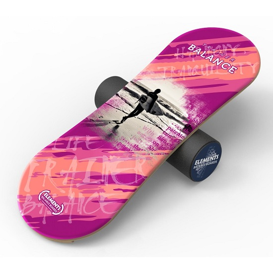 Балансборд Elements Long Surf Розовый