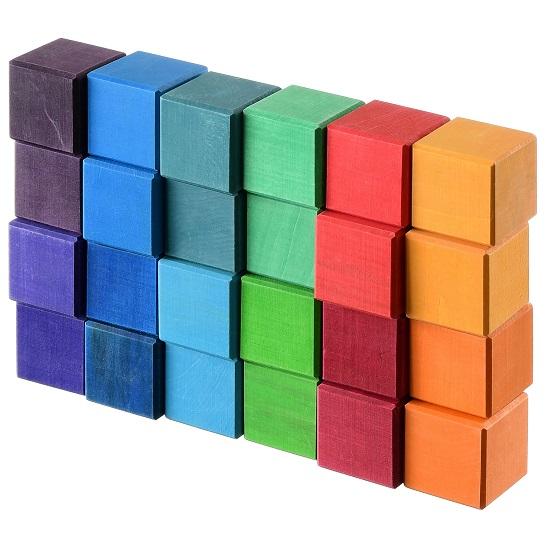 Набор деревянных кубиков Букарашка