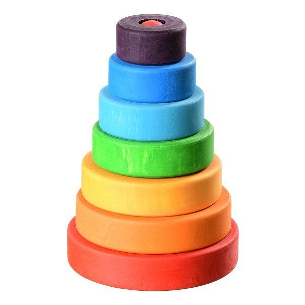 Пирамидка Букарашка Малышка в фиолетовой шапочке