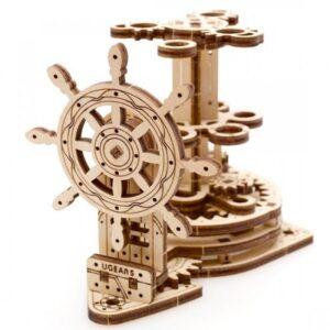 Ugears Конструктор механический из дерева — Штурвал-Органайзер