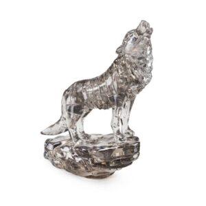 Пазл-3D Головоломка Crystal Puzzle Черный волк