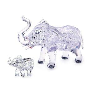 Пазл-3D Головоломка Crystal Puzzle Два слона