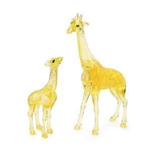 Пазл-3D Головоломка Crystal Puzzle Два жирафа