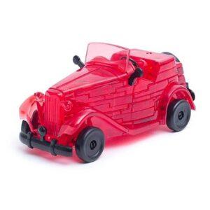 Пазл-3D Головоломка Crystal Puzzle Красный автомобиль