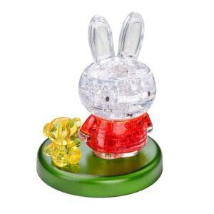 Пазл-3D Головоломка Crystal Puzzle Миффи и медвежонок